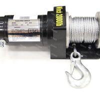 Лебедка Electric Winch 12v 2000 LBS/907кг (сталь)