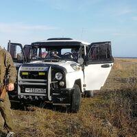 "Кенгурин на УАЗ 469 Хантер,  ""Атака"" с защитой двигателя"