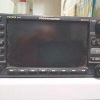 Автомагнитола Тойота с навигацией, TV и камерой заднего вида