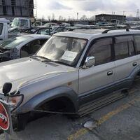 Кузов с японии toyota prado kzj95 1996год