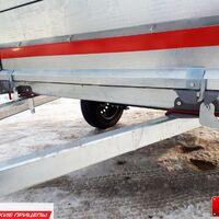 "Прицеп ""Крепыш-2"" кузов 2х1,26м высокий тент"