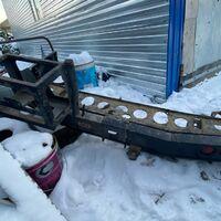 Усиленый задний бампер ARB Land Cruiser 200