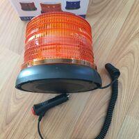 Большая мигалка маяк проблесковый оранжевый 72-led 10-30V спецсигнал