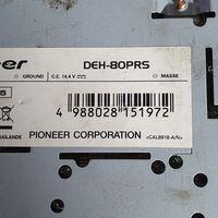 Мультимедийный центр топовый Pioneer DEH-80PRS. Тушка разделена