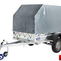 """Прицеп """"Квадро"""" Off-Road кузов 2,5х1,5 м (тент 1,5м)"""