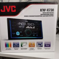 Магнитола 2DIN JVC-KW-X730