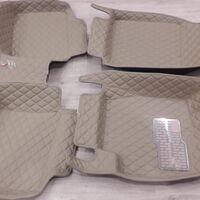 3D коврики Boost из эко кожи на Toyota LC Prado 120.
