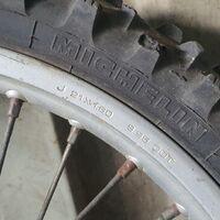 колесо переднее 21 husqvarna