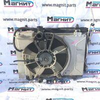 Радиатор двс Toyota Ractis NCP105 1NZFE перед. (б/у)