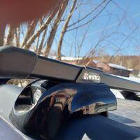 Багажник на рейлинги с внутренним креплением.INNO. Япония.