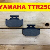 Колодки задние Yamaha TTR250 Raid TT250R