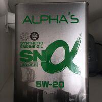 Масло моторное ALPHAS 5w-20 синтетическое (банка 4л)