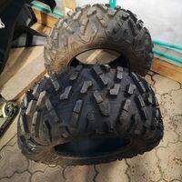 Комплект разношироких шин на квардроцикл(багги) Maxxis Bighorn 28