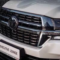 Решетка радиатора  Land Cruiser 200 дизайн Executive Lounge 2021