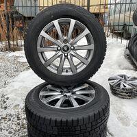 Резина Dunlop 185/65R15 на литье Manaray Sport