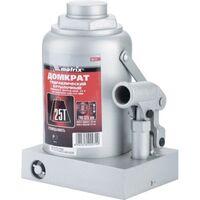 Домкрат гидравлический бутылочный, 25 т, h подъема 240–375 мм// Matrix