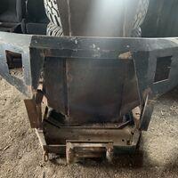 Бампер металический, станина под лебедку delica pe8w