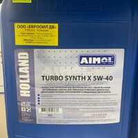 Моторное масло AIMOL (Голландия) Turbo Synth X 5W-40    20L
