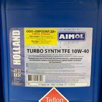 Моторное масло с тефлоном  aimol turbo synth tfe 10w-40  20l