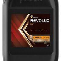 Масло моторное 15W40 CI-4/SL Rosneft Revolux D3 18кг 20л минеральное