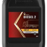 Масло моторное 10W40 CH-4/SJ Rosneft Diesel 2 18кг 20л п/синтетическое