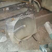 Радиатор padjero v45