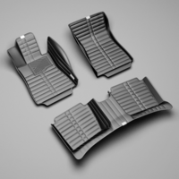 В наличии! 3D Коврики в салон Koonka Toyota C-HR ZYX  2WD левый руль