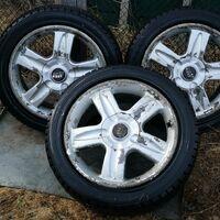 3 колеса с дисками