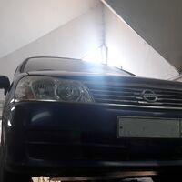 Проставки для увеличения клиренса на Nissan Liberty.