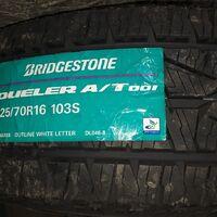 Bridgestone Dueler AT  001  225×70×16