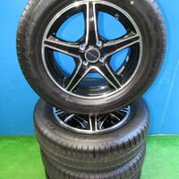 Диски R15 Bridgestone Balminum (полир.) 4х100 (+45). Без пробега по РФ