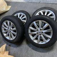 Только диски R18 Toyota 5x114.3 (+39) J7.5. Japan. Без пробега по РФ