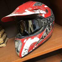 Мото шлем с очками(размер M57-58)