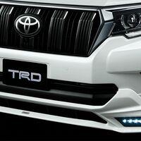 Обвес TRD черный Toyota LC Prado 150 2018 Рестайлинг