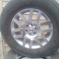 Продам колеса на панфиндер.диски новые оригинал