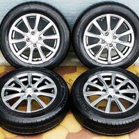 Комплект колёс на титановых дисках 175/65R15 Dunlop SP Sport