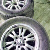 275/60/R18 продам диски с резиной На дисках отшелушиваеться краска