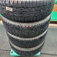 Шины 235/55/18 Bridgestone Dueler H/T, износ 40%, 2014г. Japan