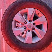 Штатные колеса в сборе TLC Prado 150. 265/65 R17 летняя.