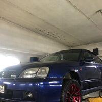 Защита двигателя на Subaru Legaсy B4 (1998-2002)