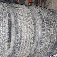 Колёса в сборе от паджеро с литыми дисками в количестве 5 шт.