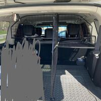 Решетка для собак на Nissan Patrol