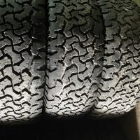 265/65R18 три шины грунт/асфальт А/Т BFGoodrich