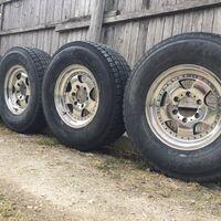 Продам комплект диски+резина Dunlop Grandtreak Gj7 265/70/16