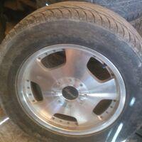 Продам кованые диски Layered с летней резиной R18/265/60