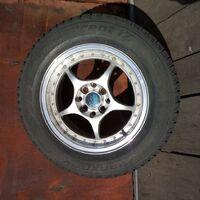 Продам шины Hankook 205×65×15R с дисками, вылет ЕТ 38