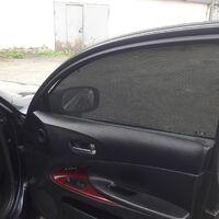 Каркасные шторки на Lexus GS300