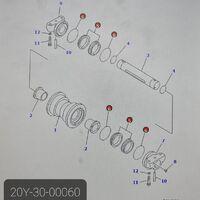 Продам плавающее уплотнение 22U-30-00060
