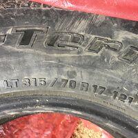 Продам летние шины LT315/70r17