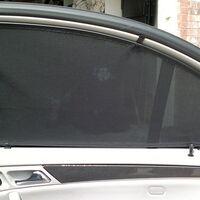 Каркасные шторки на Infiniti QX56 (2010-2014)